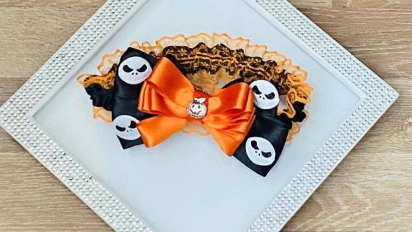 Halloween themed garter