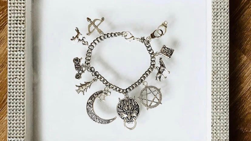 Teen wolf inspired bracelet
