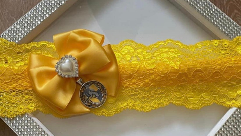 Harry Potter inspired garter