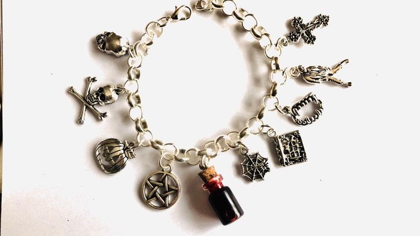Halloween inspired bracelet