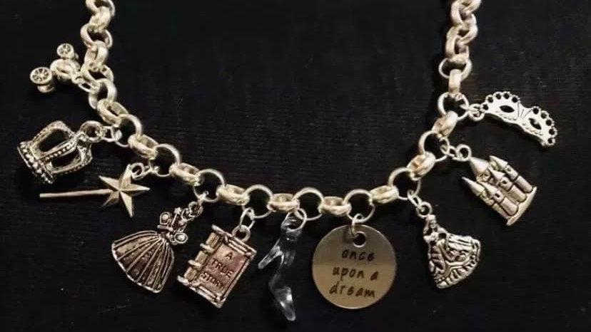 Cinderella inspired bracelet