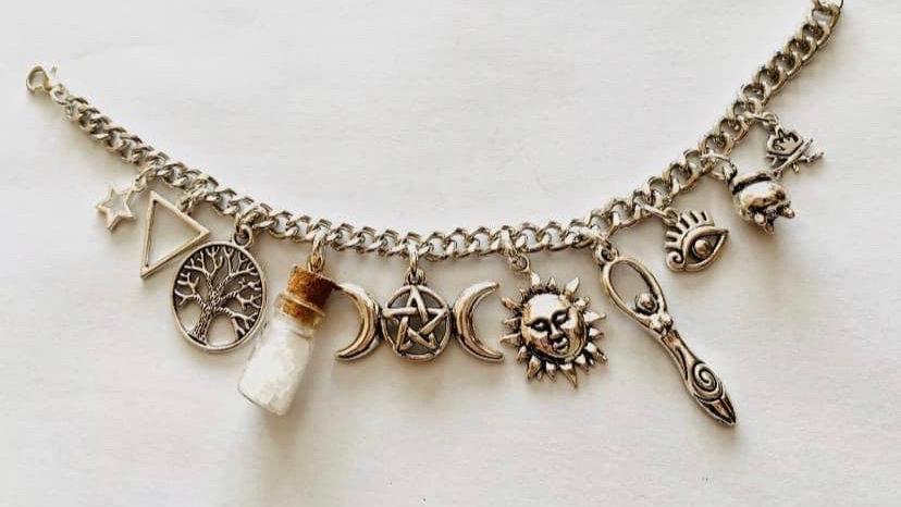 Supernatural protection bracelet
