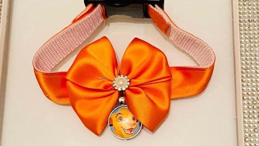 Simba inspired cat/dog collars