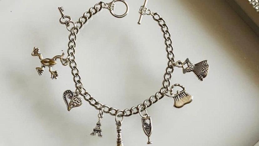 Paris inspired bracelet