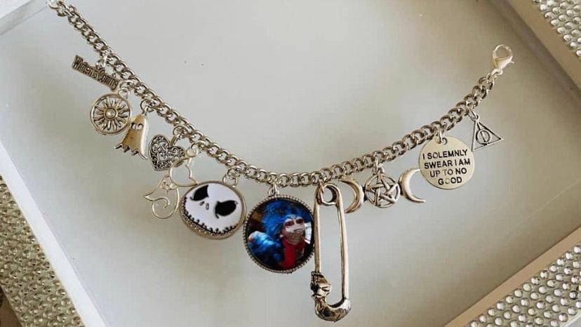 Film inspired bracelet