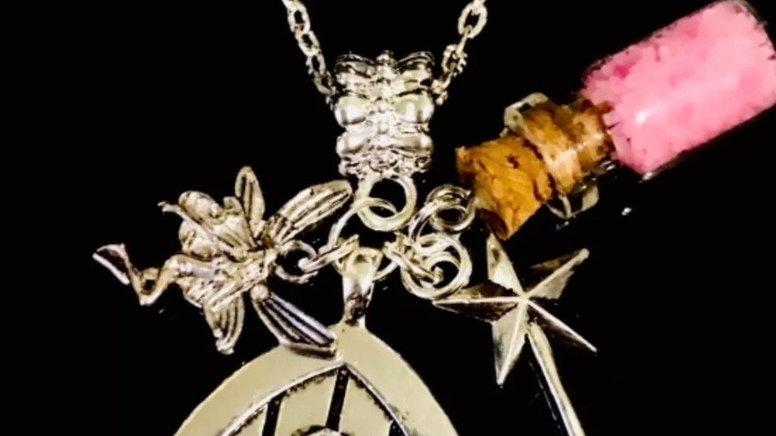 Fairy door necklace