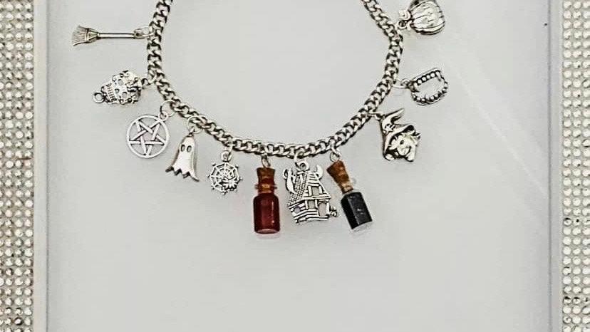 Supernatural inspired bracelet