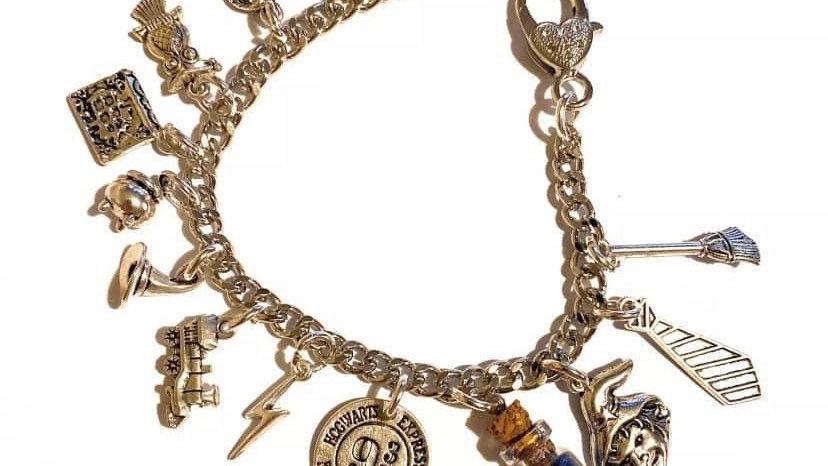 Harry Potter themed bracelet