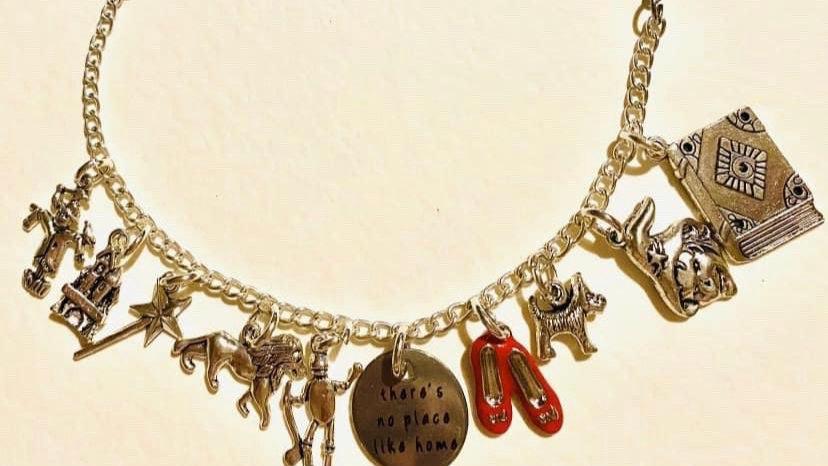 Wizard of oz inspired bracelet
