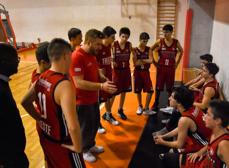 UNDER 15 SILVER, IL BASKETRIESTE AFFONDA A MUGGIA
