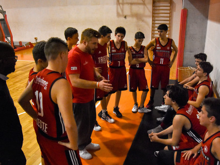 UNDER 15 SILVER, +21 SUL BASKET 4 TRIESTE