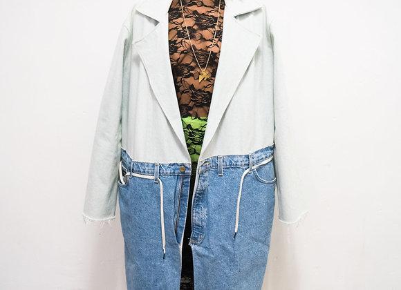 "Denim ""Jeans"" Trench"