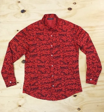 Graffiti Ohio Button-up Shirt