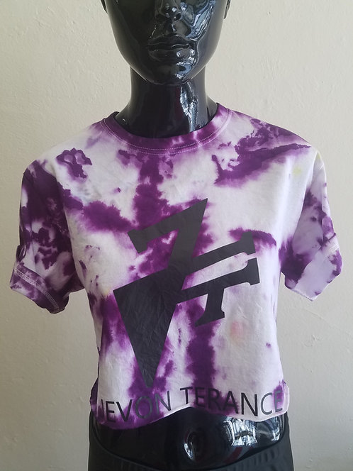 Tie dye crop