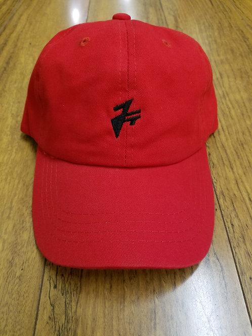RED JT DAD HAT