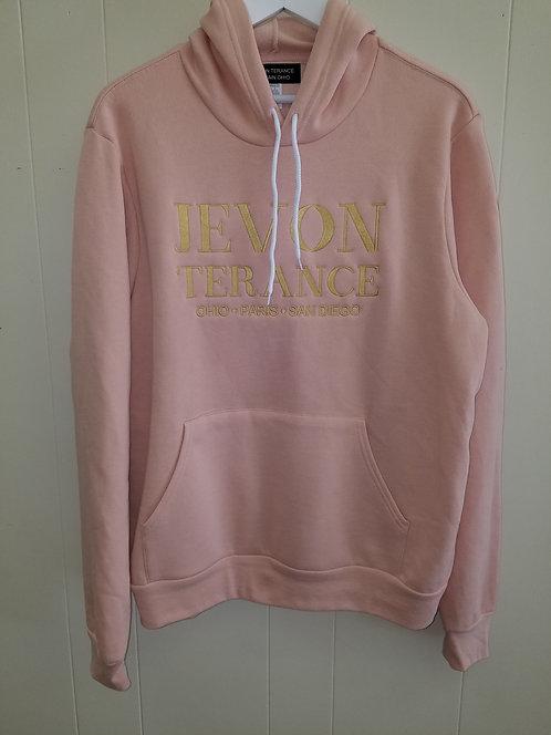 Peach Lux location hoodie