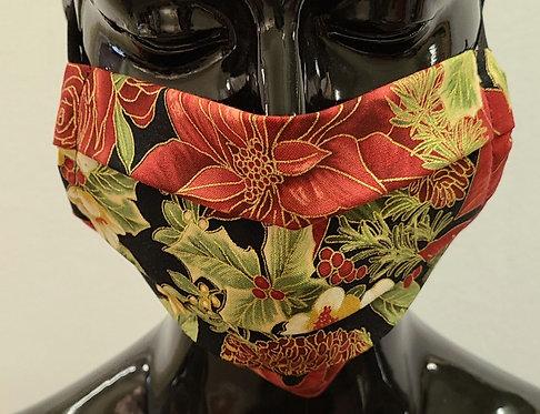 Poinsettia Mask