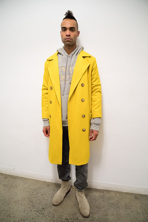 TAXI WOOL TRENCH