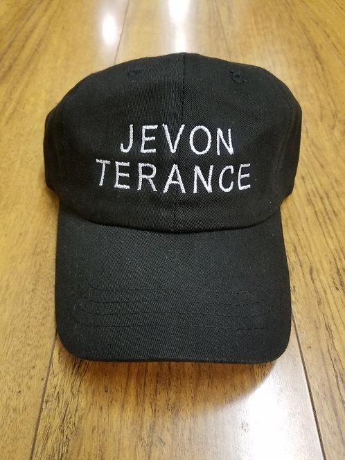 "BLACK ""JEVON TERANCE"" DAD HAT"