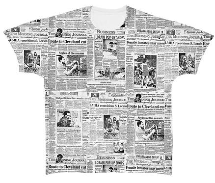 JT News print Tee