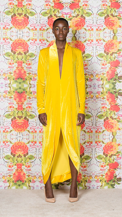 CANARY ROBE DRESS