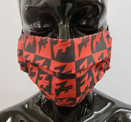 JT Mongogram Plaid Mask