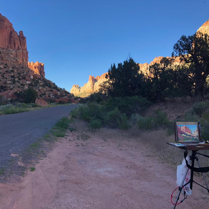 Burr Trail - Evening Light