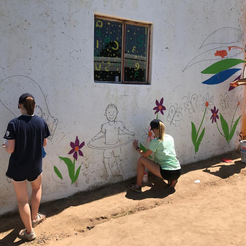 New Mural at Educare
