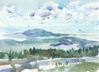 View from Sandia Peak, New Mexico, 2015