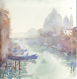 Venice Canal in Mist, 2008