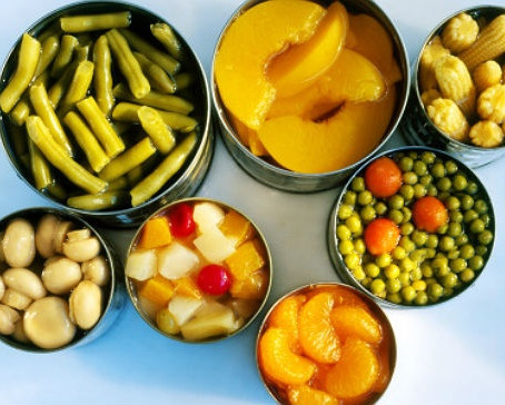 ¿Son malos los alimentos en lata?