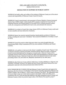 Adopted: Resolution in Support of Public Safety