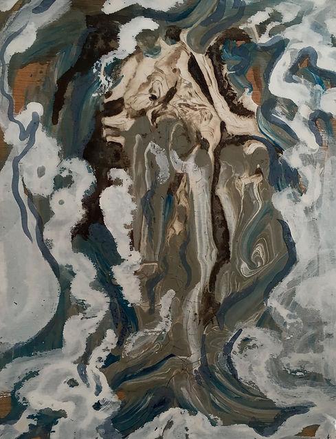Birch Goddess_Carrie Barcomb 9 x 12 milk