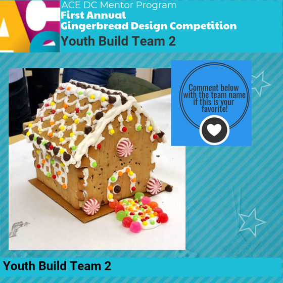 First Annual ACE DC Gingerbread Design Competition is LIVE!