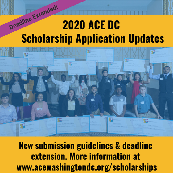 Scholarship Application Deadline extended to April 20th!