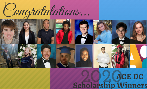 Congratulations to our 2020 Scholarship Winners!