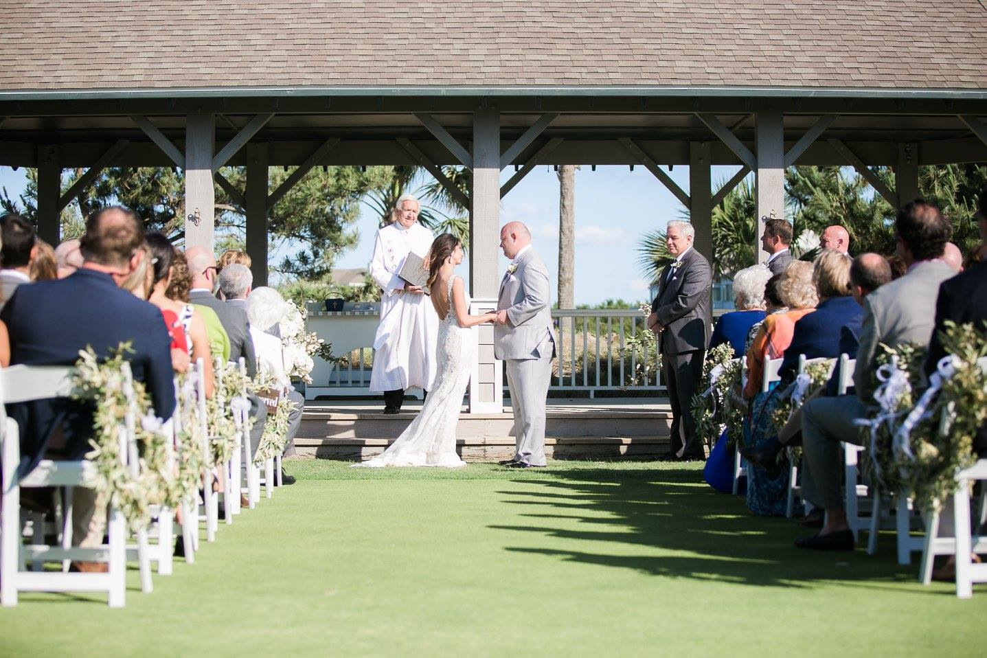 ceremony at Bald Head Island Club