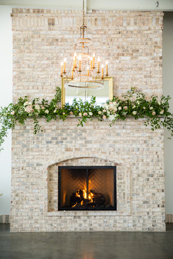 fireplace at wrighstville manor