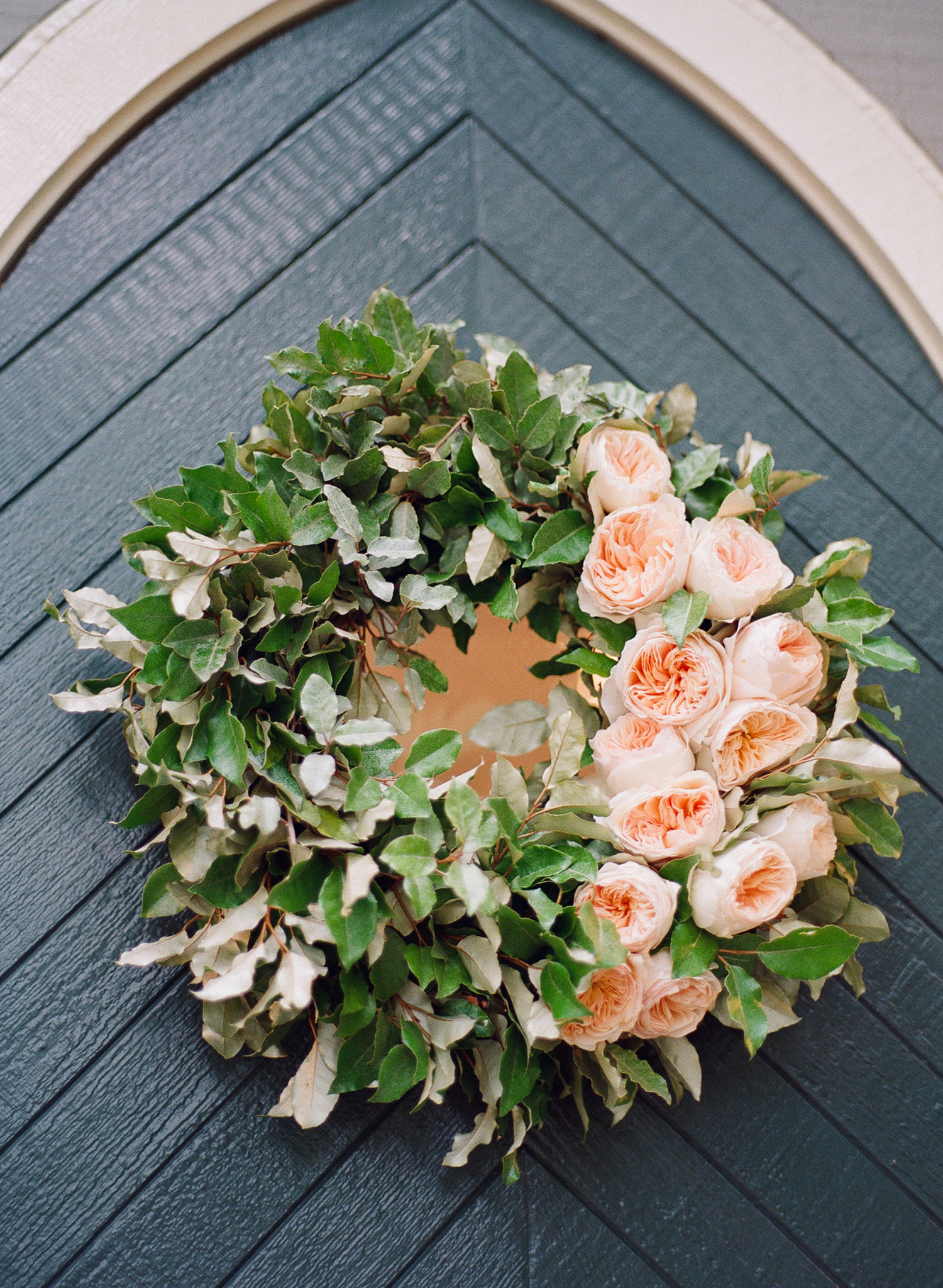 Church Door wreath
