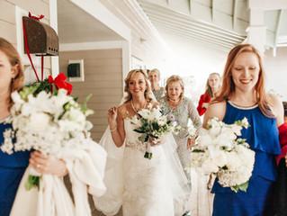 Britt & Zac's Wedding - Bald Head Island!