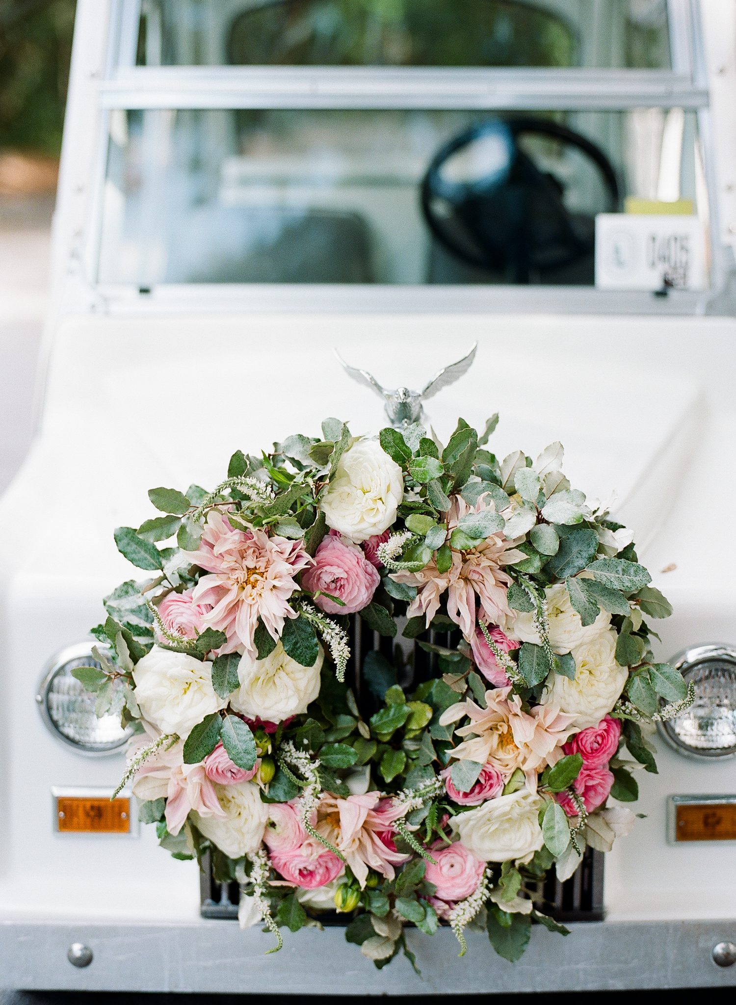 golf cart wreath
