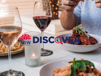 LIVE LUNCHES:  1 DISCOVER VOUCHER = 2 MEALS + LIVE MUSIC