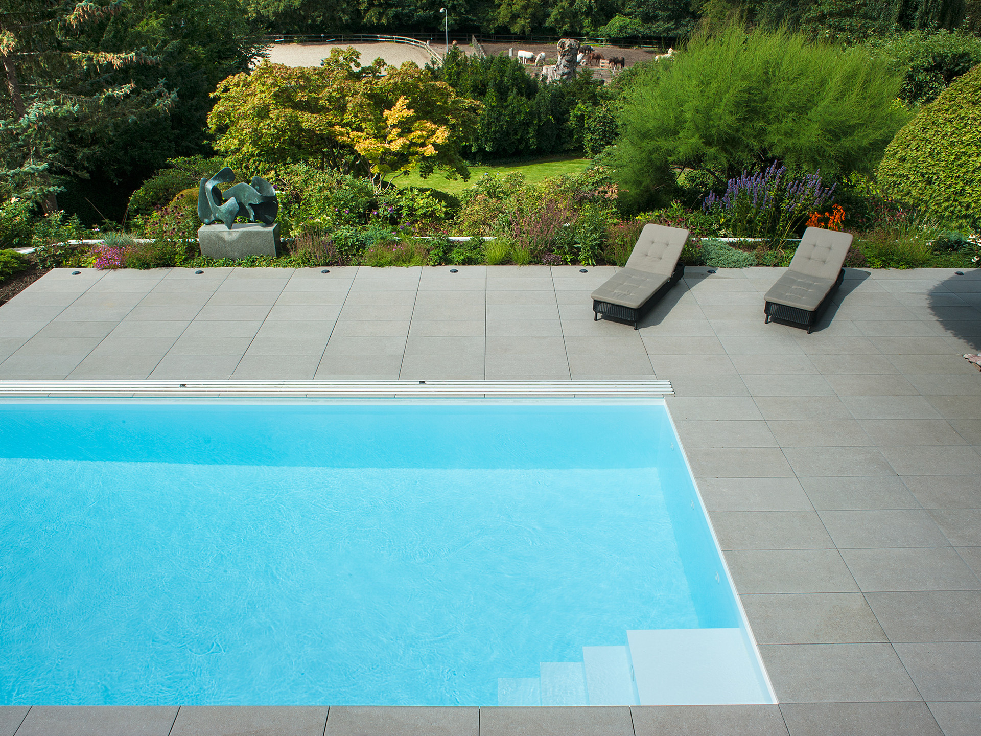 Ordrup Residence Pool and Terrace