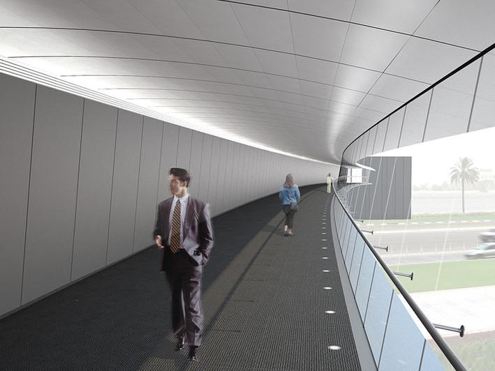 Adnec Pedestrian Bridge