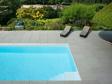 Ordrup Residence Pool and Terrace Completes