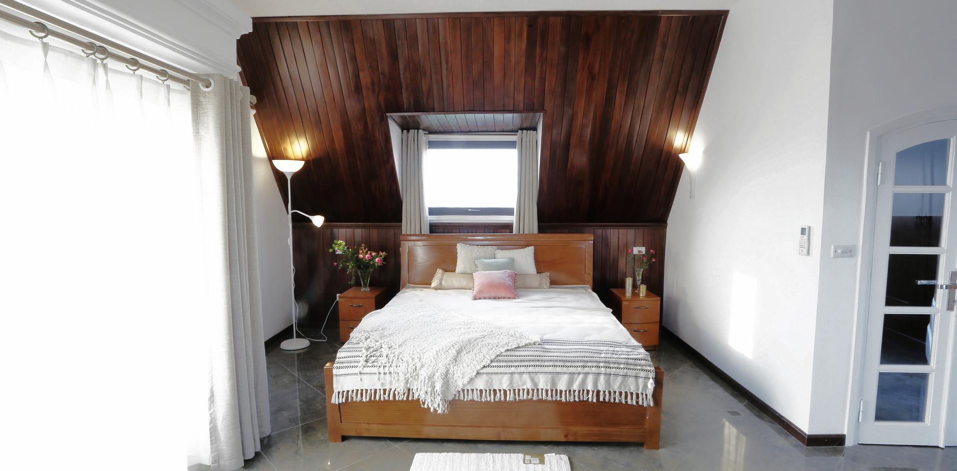 Master attic bedroom