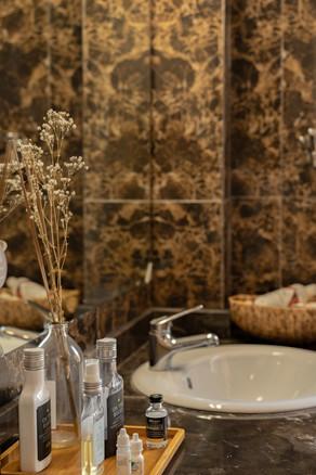 Chic Parisian_ Master Bathroom