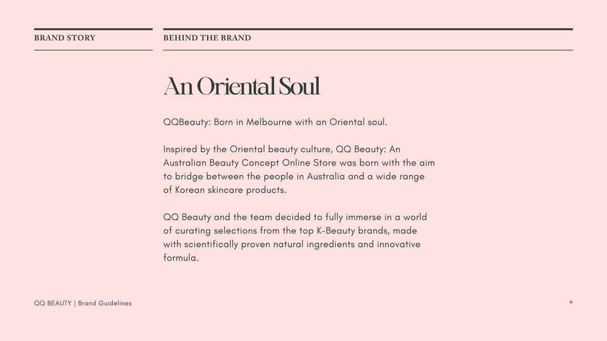 An Oriental Soul