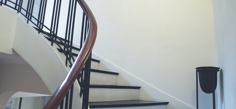 Townhouse staircase