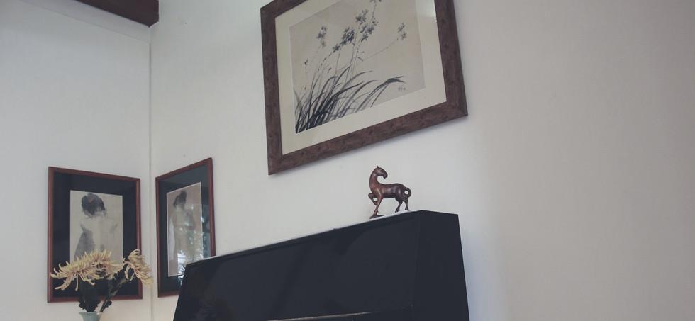 Living Room piano